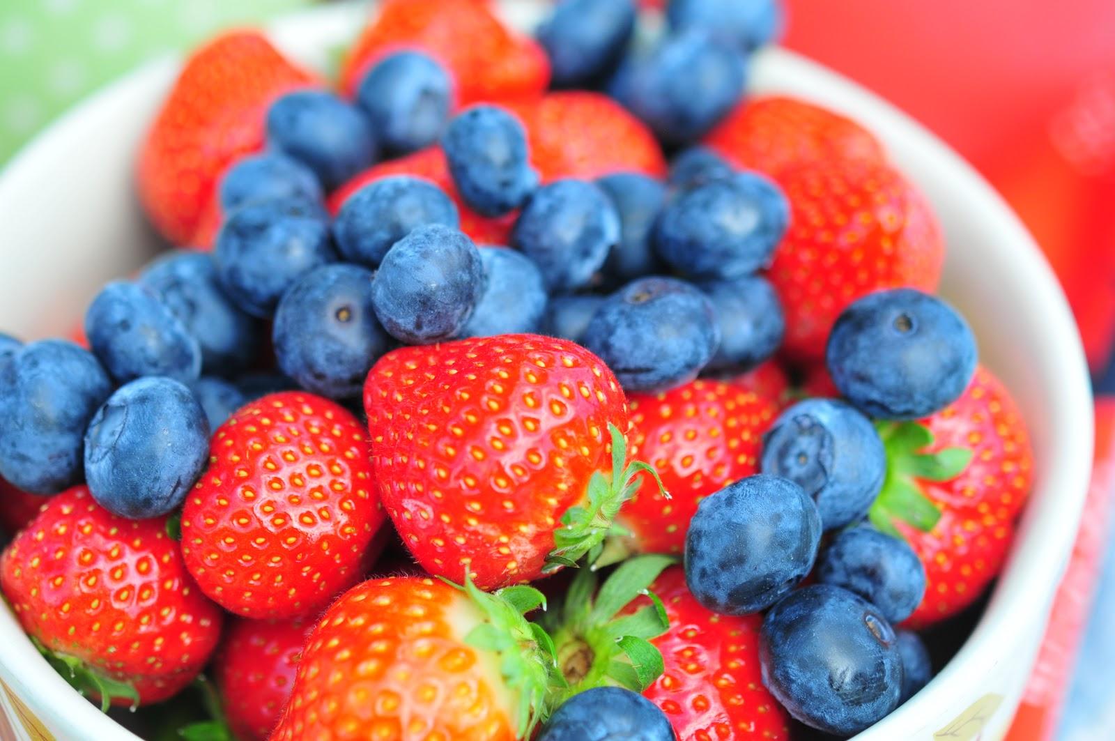 Strawberries-Blueberries