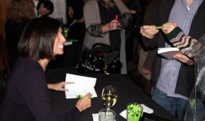 Judy book signing
